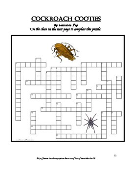 40 Crossword Puzzles by Jean Martin for Grades 4-8
