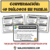 40 DIÁLOGOS EN PAREJA PARA LA CLASE DE ESPAÑOL (ROLE-PLAYS)