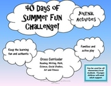 40 Days of Summer Journal Challenge