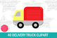 40 Delivery Truck Clipart-Food Truck Clipart-Truck Clipart