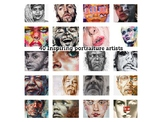 "40 Different ""Portraiture"" Artists to inspire art students"
