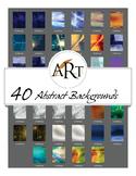 40 Digital Backgrounds by ART EDU