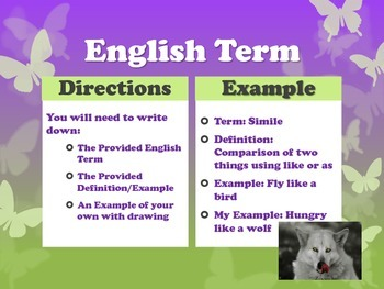 40 English Terms of the Week