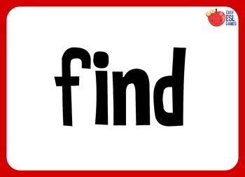 40 FREE Flashcards. Dolche Sight words Pre-Kindergarten (40 words)