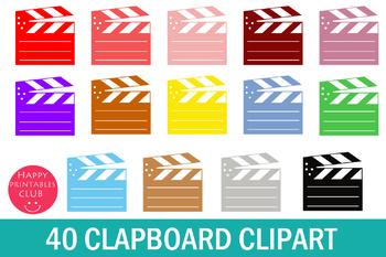 40 Film Clapboard Clipart-Movies Clapboard Clipart- Film Clapper Board Clipart