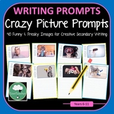 40 Fun Writing Prompts for Secondary Students - Fun Silly Crazy Picture Prompts