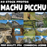 40 High Quality Stock Images - Machu Picchu Peru - Commerc