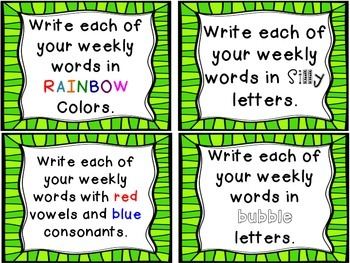 40 Instant and Engaging Word Work Activities