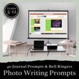 40 Journal Prompts Inspired by Pictures!