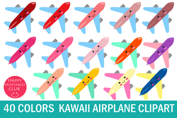 40 Kawaii Airplane Clipart - Plane Clipart Images-Cute Airplane Clipart