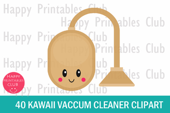 40 Kawaii Vacuum Cleaner Clipart- Vaccum Cleaner Clipart PNG