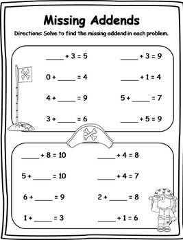 40+ Missing Addends Activities (CCSS Aligned)