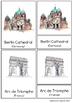 40 Montessori World Landmarks Nomenclature Cards