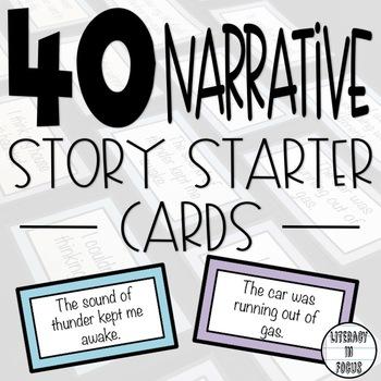 40 Narrative Starter Cards