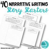 40 Narrative Writing Story Starters
