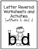 40 No Prep b and d Letter Reversal Worksheets and Activities. Phonics Practice