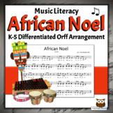 African Noel - K-5 Holiday Song, Differentiated Activities