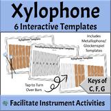Interactive Xylophone Templates - Elementary Music Activit