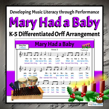 Orff Arrangements Christmas Worksheets Teaching Resources Tpt
