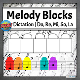 Pentatonic Melodic Dictation Music Game | Boom Cards
