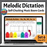 Pentatonic Melodic Dictation Music Game   Set 6 - Do Re Mi So La