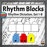 Rhythm Dictation Music Game | Boom Cards -  Set 1-B