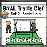 Treble Clef Note Name Games   Boom Cards Set 2 - BASIC LINES