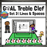 Treble Clef Note Names Game | Boom Cards Set 3 - BASIC LIN