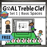 FREE Treble Clef Note Names Game   Boom Cards Set 1 - BASI