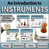 Musical Instruments BUNDLE | String Woodwind Brass and Per