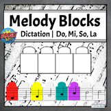 Do, Mi, So, La Melodic Dictation Music Game | Boom Cards