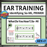 Melodic Ear Training Boom Cards   PRIMER Set - Identifying