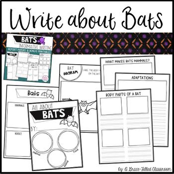 Bats: Reading and Writing Bundle