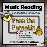 Halloween Music Activities, INTERMEDIATE – Pass the Pumpkin