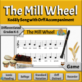 Harvest Music Reading Lesson with K-5 Differentiated Activ