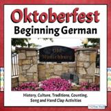 Oktoberfest German Traditions & Culture, Folk Song - SECONDARY EDITION
