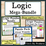 Digital Logic Puzzles for 4th Grade or 5th Printable Puzzl