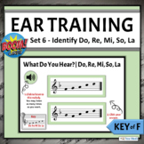 Melodic Ear Training Boom Cards   Set 6 - Identifying Do R