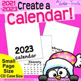 2021 Calendar SMALL {Printable Monthly} Blank Parent Chris