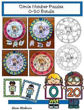40% Off 0-20 Circle Puzzles Bundle