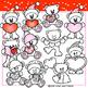 Polar Bear Clipart Valentine Polar Bear Clip Art