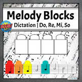 Melodic Dictation Music Game   Boom Cards Set 3 - Do Re Mi So
