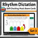 Rhythm Dictation Music Game | Boom Cards - Set 3