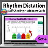Rhythm Dictation Music Game | Boom Cards - Set 4