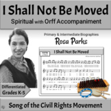 Black History Month Song with Orff Arrangement   Rosa Park