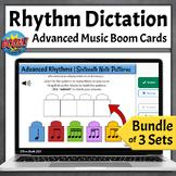 Distance Learning Music Games | Advanced Rhythm Dictation BUNDLE