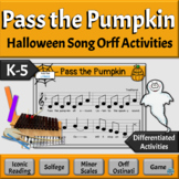 Halloween Song with Orff Arrangement | Pass the Pumpkin