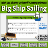 Irish Sea Shanty with Differentiated Orff Arrangement | Bi