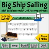 Irish Sea Shanty with Differentiated Orff Arrangement | Bi