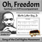 Black History Month Song & Orff Activities | Spotlight on Martin Luther King, Jr